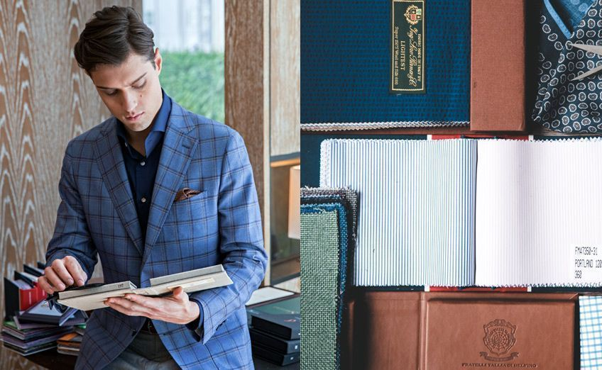 Choosing Fabrics Suit Books Bespoke Tailoring 2 848x522