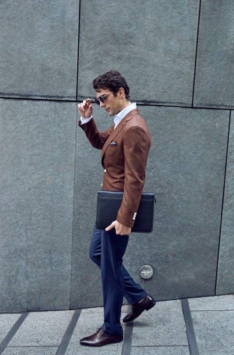 Style Inspiration Mens Lookbook Stallion Mens Jacket Navy Trouser Street Walkt 517x783