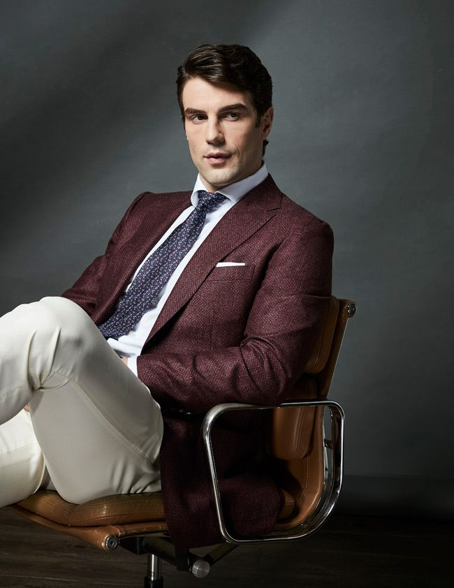 How To Choose Color Customize Suit Patterns Burgundy Maroon Blazer Jacket Casual