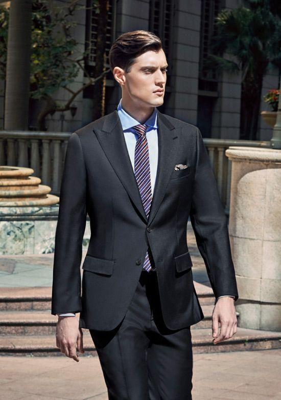 Lawyer Suit Dress Code Court Trial Jury Black Power Suit 550x781