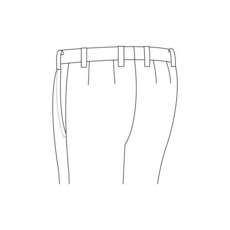 Senszio Garment Finals V1 Tuxedo Back Pocket None