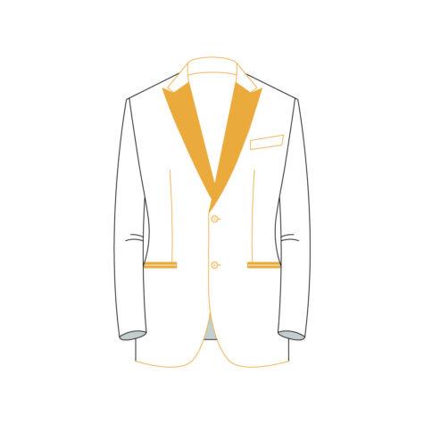 Senszio Garment Finals V2 Tuxedo Jacket Style 2
