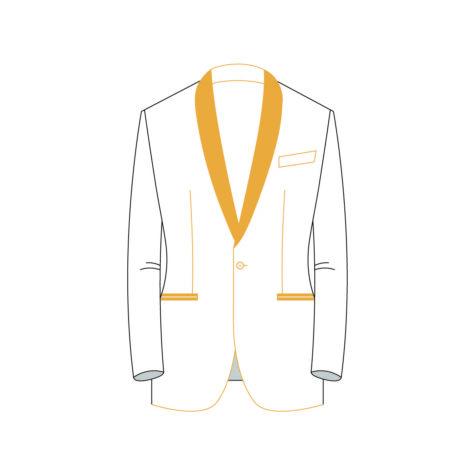 Senszio Garment Finals V2 Tuxedo Jacket Style 3