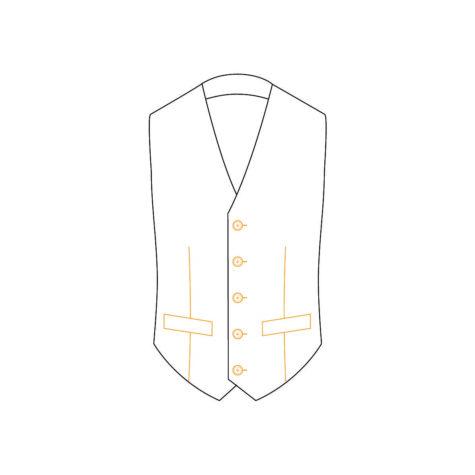 Senszio Garment Finals V2 Waist Coat Style 1