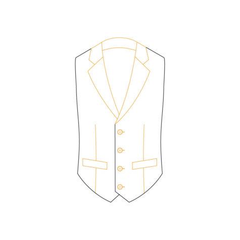 Senszio Garment Finals V2 Waistcoat Style 3