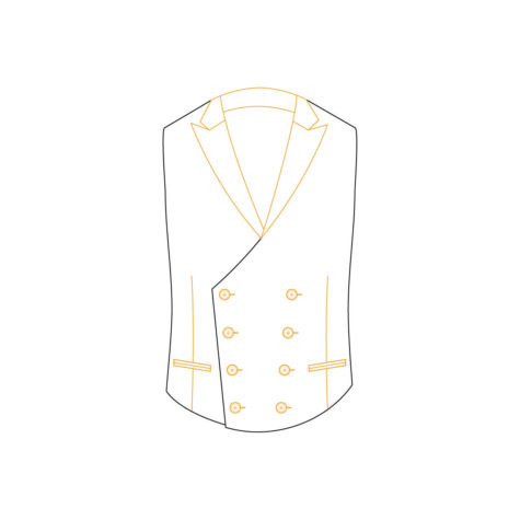 Senszio Garment Finals V2 Waistcoat Style 4