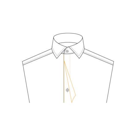 Senszio Garment Finals V1 Shirt Front Fly Front