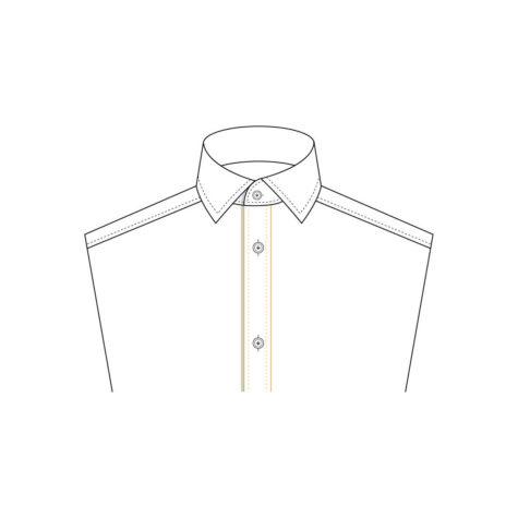 Senszio Garment Finals V1 Shirt Front Placket Front