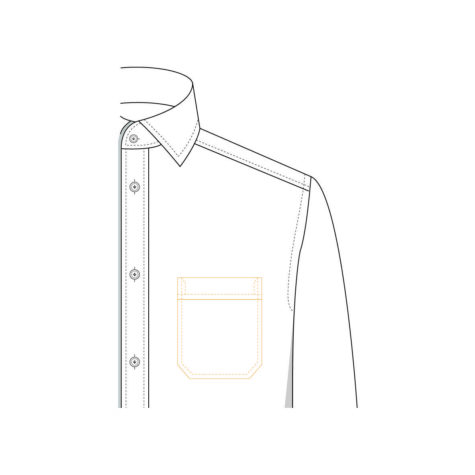 Senszio Garment Finals V1 Shirt Pocket Classic