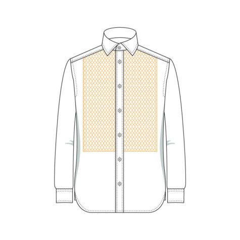 Senszio Garment Finals V1 Shirt Squared With Stud Holes
