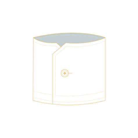 Senszio Garment Finals V2 Cuff Single 1 Button