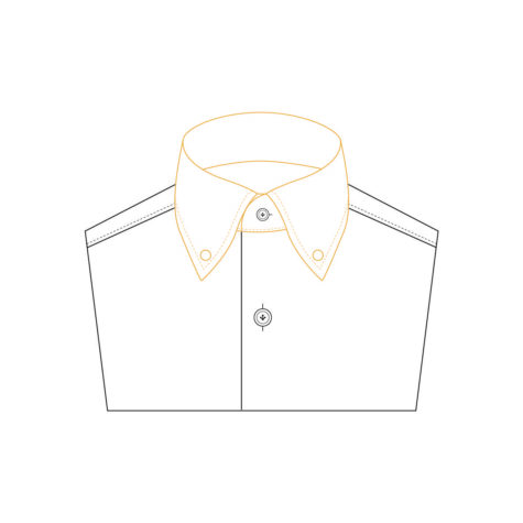 Senszio Garment Finals V2 Shirt Collar Hidden Button Down