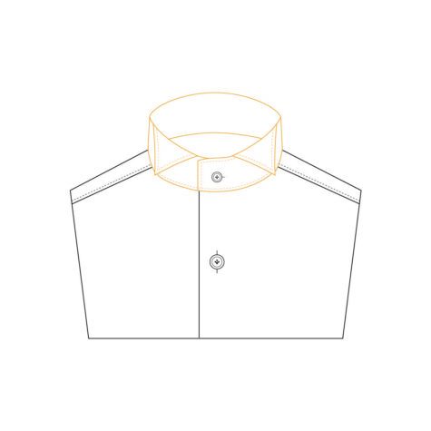Senszio Garment Finals V2 Shirt Collar Smoking