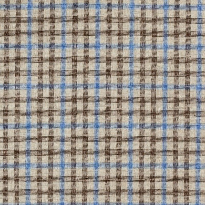 C1030 Carnet Light Blue And Beige Damier