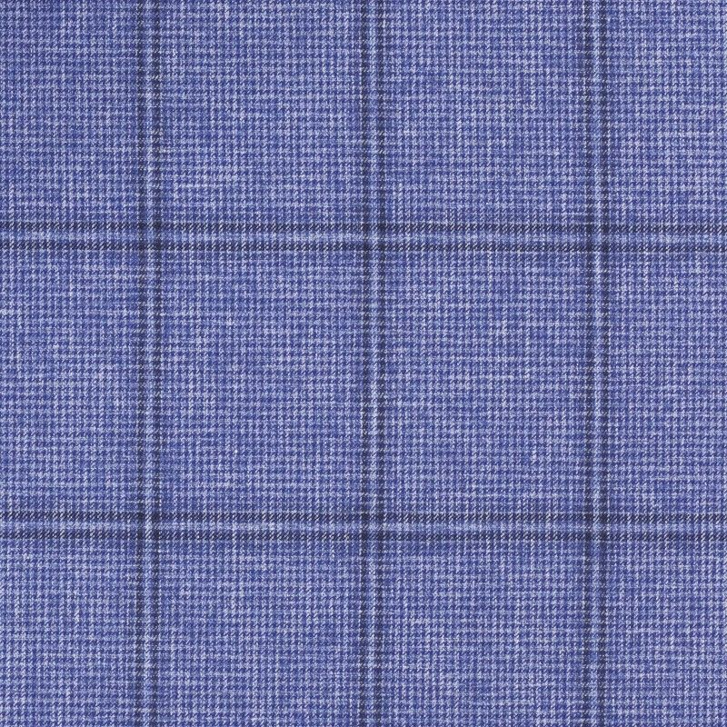 C1054 Carnet Blue Overcheck