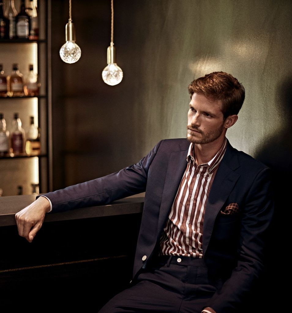 Senszio custom made suits are perfectly designed to suit your personal style, fit and lifestyle, whether you prefer striped shirts or something plain
