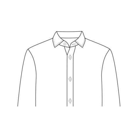Shirt Jacket Chest Pocket 01