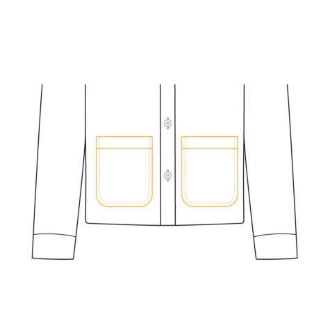 Shirt Jacket Lower Pocket 02