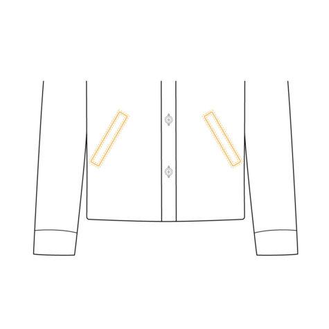 Shirt Jacket Lower Pocket 03