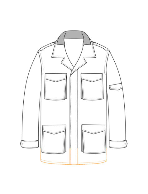Field Jacket Long Fit