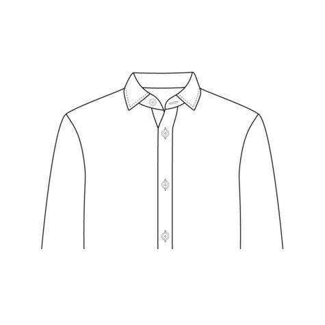 Shirt Jacket Collar 01