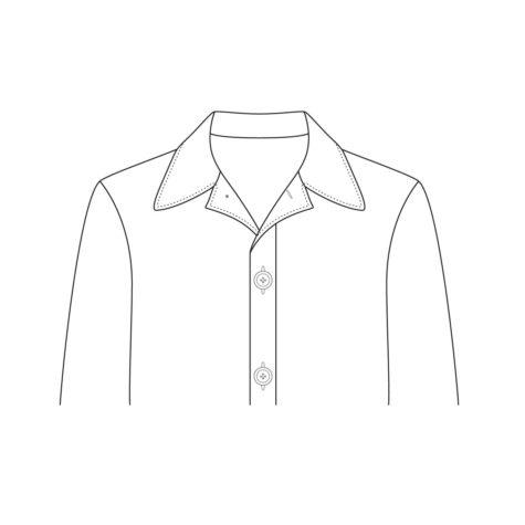 Shirt Jacket Collar 02