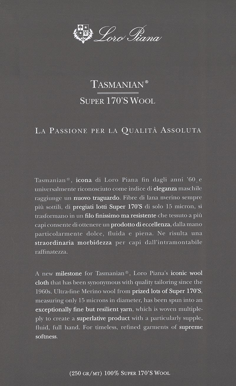 Loro Piana 713 Tasmanian Cover 2