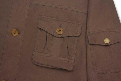 Brown Safari Jacket 02