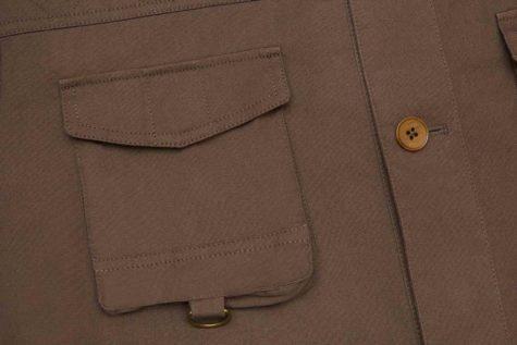 Brown Safari Jacket 03