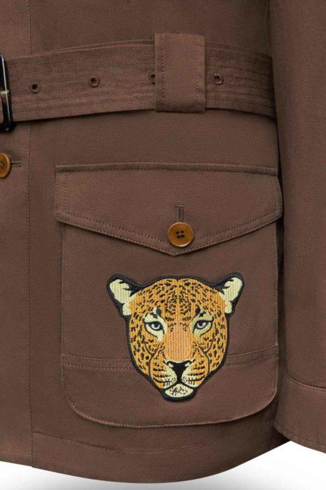 Brown Safari Jacket 04