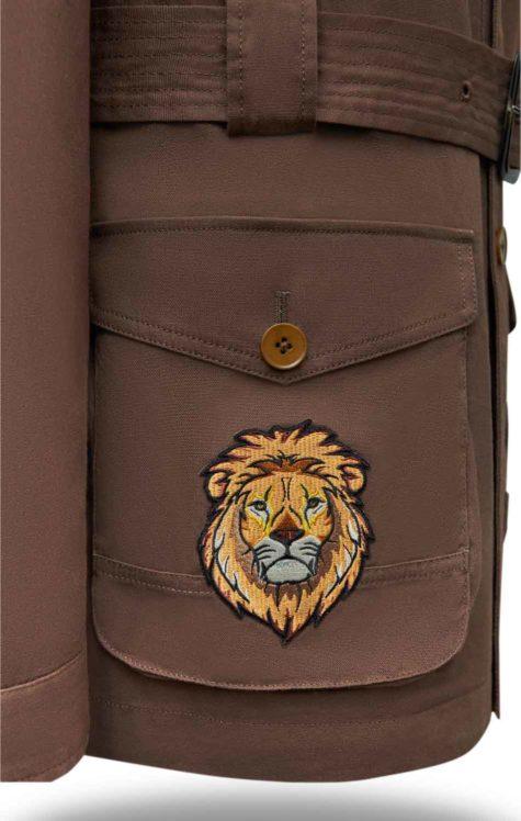 Brown Safari Jacket 05