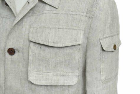 Oat Linen Jacket 06