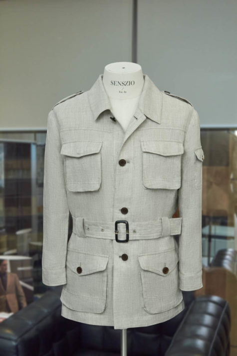 Oat Safari Jacket 04