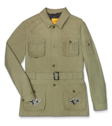 Olive Safari Jacket 01