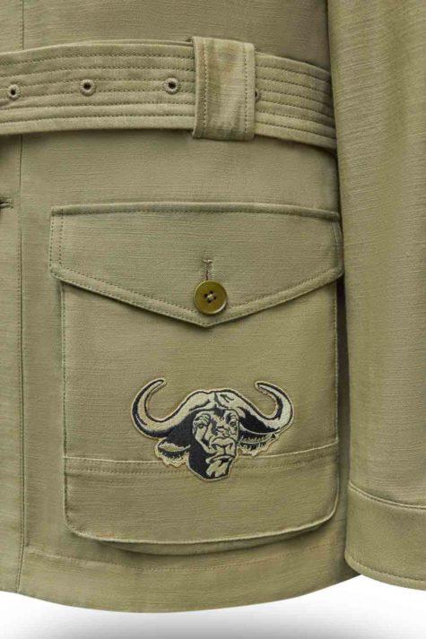 Olive Safari Jacket 03